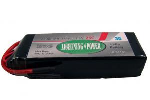Lightning Power 2200mAh 25C 3S1P 11.1V Lithum Polymer Battery