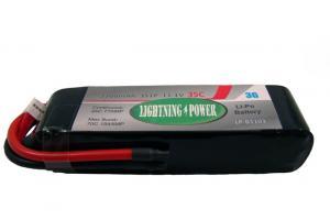 Lightning Power 2200mAh 35C 3S1P 11.1V Lithum Polymer Battery