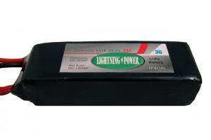 Lightning Power 2600mAh 25C 6S1P 22.2V Lithum Polymer Battery