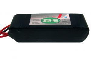 Lightning Power 5000mAh 25C 6S1P 22.2V Lithum Polymer Battery