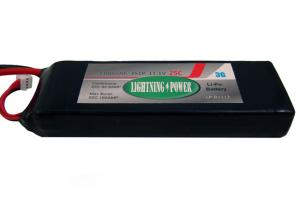 Lightning Power 3300mAh 25C 3S1P 11.1V Lithum Polymer Battery