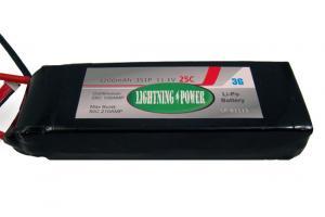 Lightning Power 4200mAh 25C 3S1P 11.1V Lithum Polymer Battery