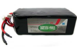 Lightning Power 4200mAh 25C 10S1P 37.0V Lithum Polymer Battery