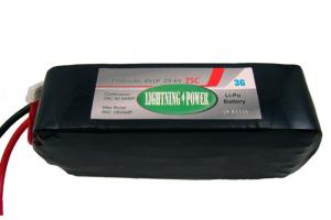 Lightning Power 3700mAh 25C 8S1P 29.6V Lithum Polymer Battery