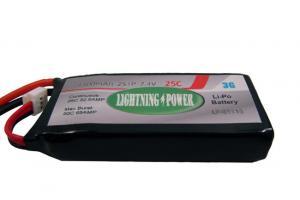Lightning Power 1300mAh 25C 2S1P 7.4V Lithum Polymer Battery