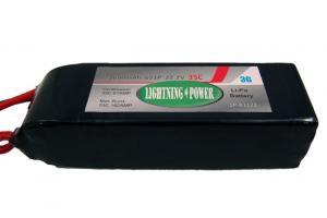Lightning Power 2600mAh 35C 6S1P 22.2V Lithum Polymer Battery