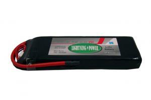 Lightning Power 2600mAh 35C 3S1P 11.1V Lithum Polymer Battery