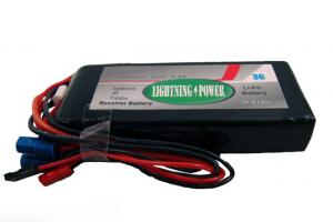 Lightning Power 5000mAh 2S2P 7.4V Receiver Battery Futaba/ JR/ Spektrum