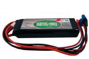 Lightning Power 2500mAh 2S1P 7.4V Receiver Battery Futaba/ JR/ Spektrum