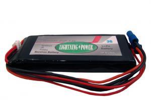 Lightning Power 3600mAh 2S1P 7.4V Receiver Battery Futaba/ JR/ Spektrum