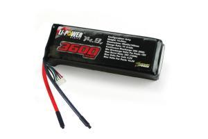Venom 25C 3600mah 14.8v 4-Cell LiPO Battery