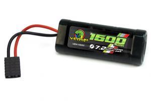 Venom 7.2v 1600mah 2/3A NiMH Battery w/ TRX