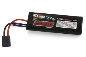 Venom 20C 2000mah 7.4v 2 Cell LiPO Battery TRX