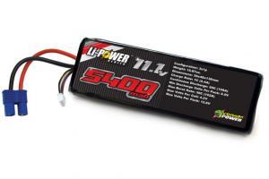 Venom 20C 5400mah 11.1v LiPO - EC3 Plug