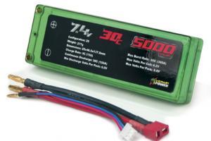 Venom 30C 5000mah 7.4v 2-Cell LiPO Hardcase