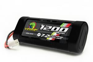 Venom 7.2v-1200mah 2/3A NiMH Battery