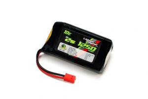 Venom 10C 7.4v 1250mah 2-Cell LiPO Battery