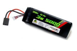Venom 20C 5000mah 11.1v LiPO - TRX Plug