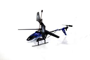 S32 Medium Metal Gyro RC Helicopter, Blue