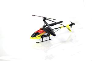 S32 Medium Metal Gyro RC Helicopter, Red