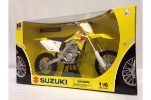 Suzuki RMZ450 Motorcycle, Yellow