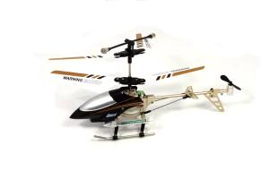 W909-6 Mini Metal 2CH Helicopter, Black